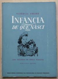 infância de que nasci, natércia freire, portugália editora