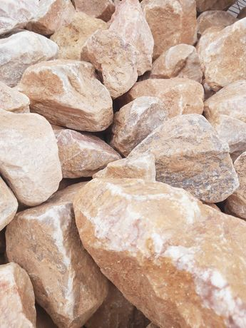 Różowy kamień PINK 90-150mm, grys, kamień do gabionów