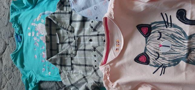 Koszulę i bluzki dla dziewczynki