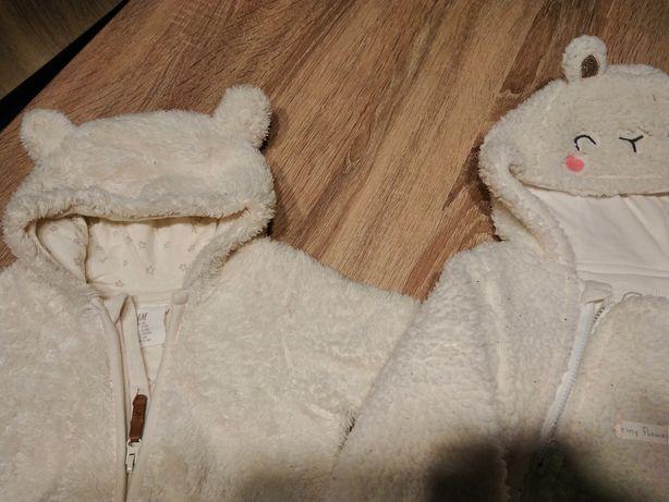 Kombinezon Misiek H&M + czapka zimowa i rękawiczki