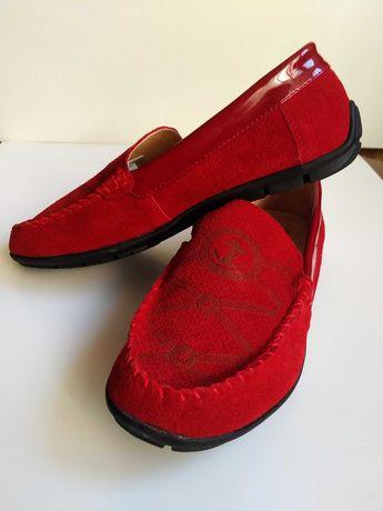 Туфли детские мокасины 36