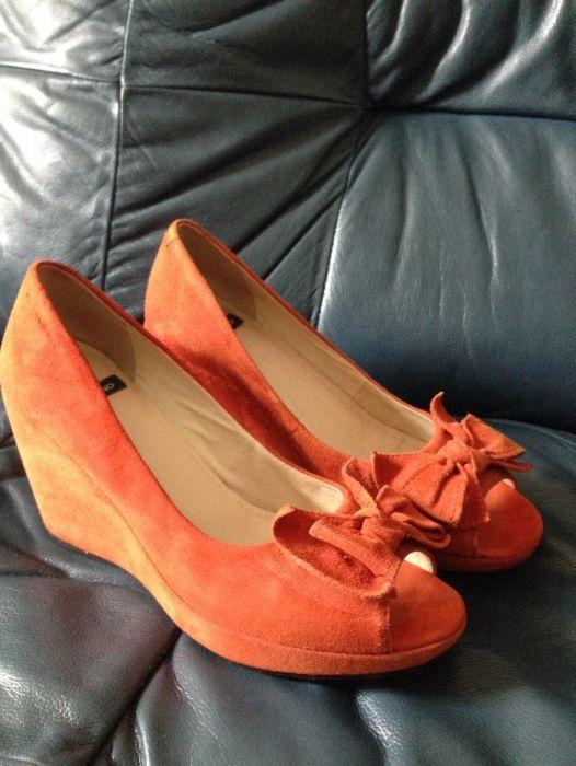 босоножки - туфли женские замшевые Киев - изображение 1