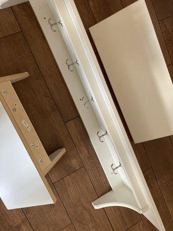 Komplet 3 półek - Ikea - używane - kuchenne