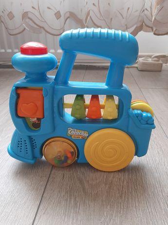 Дитячий поїзд музикальний