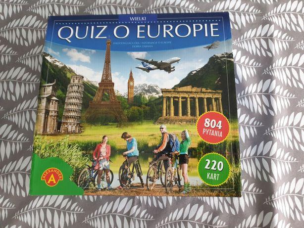 """Gra """"Wielki Quiz o Europie"""""""