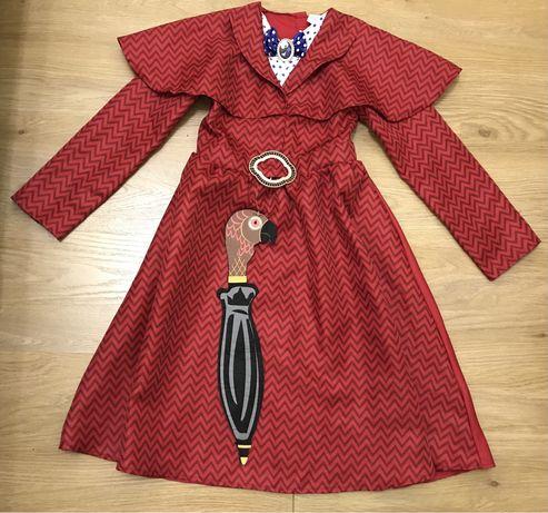 Карнавальный костюм няни Мэри Поппинс на 7-8 лет, Disney
