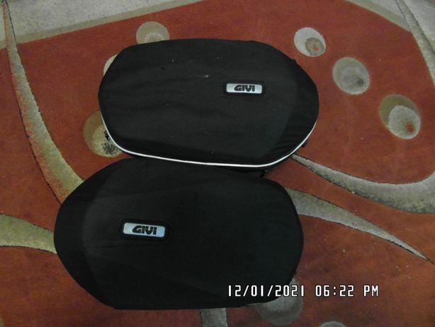 Kufry półtwarde GIVI z stelażem do Kawasaki z650, ninja 650