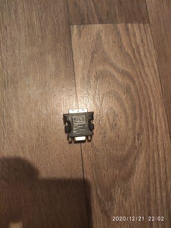 Переходник DVI VGA