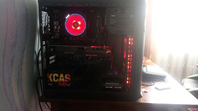 Системный блок с AMD Ryzen 2700X и Asus RX580 ROG Strix OC 8GB