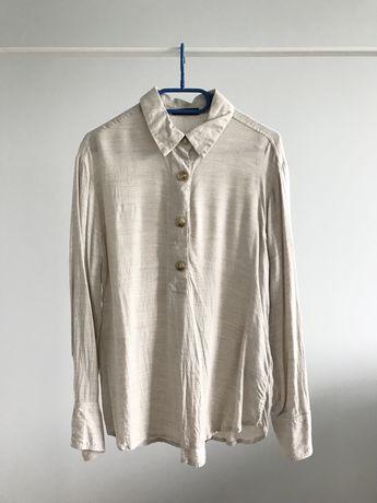 Koszula beżowa Reserved