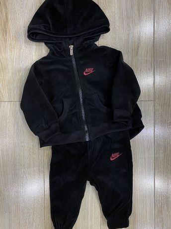 Dresik pluszowy Nike i body w komplecie