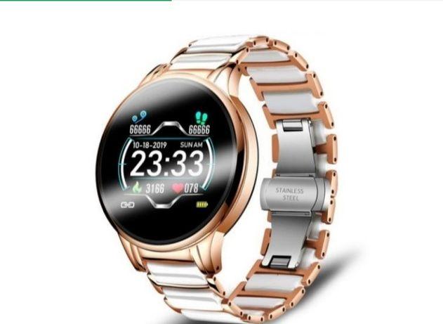 Розумні годинник Smart Beauty Ceramic Gold