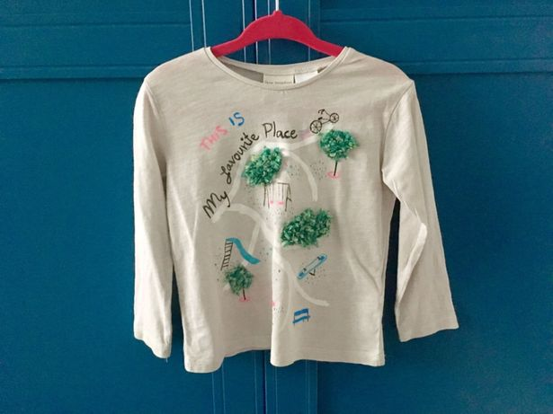 Bluzka bluzeczka Zara 92