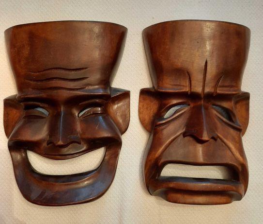 Sprzedam maski drewniane