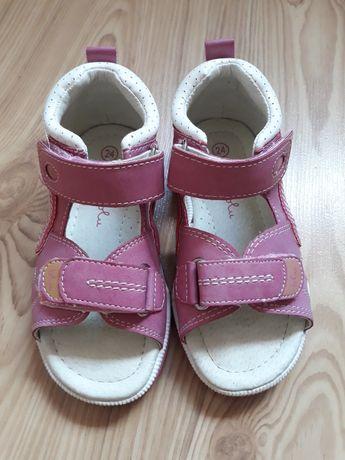 Sandałki dla dziewczynki rozmiar 24