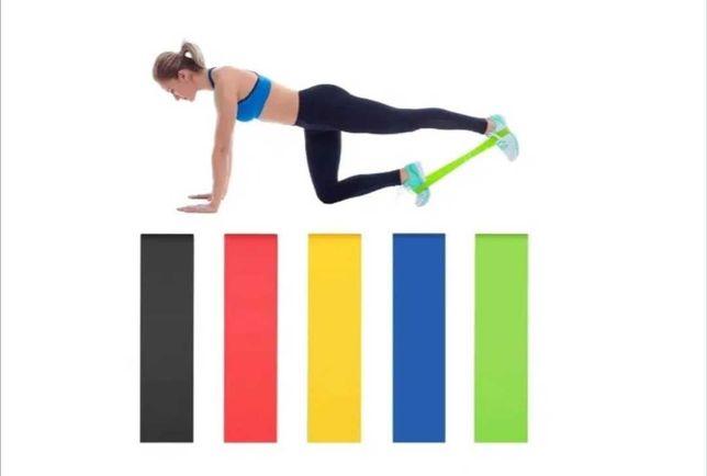 Bandas de resistência e Yoga