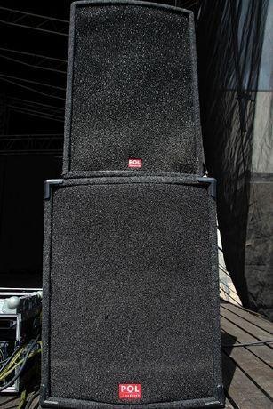 Zestaw Estradowy Pol Audio 2x 1300W