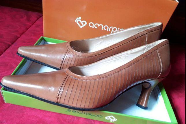 Sapatos de Senhora Catarro Fundão, tamanho 38