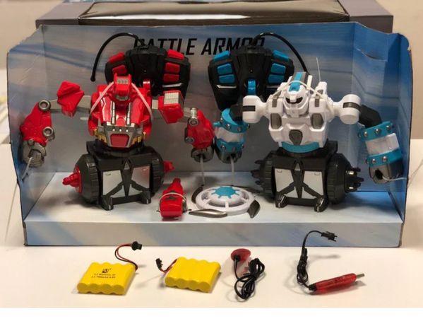 Роботы для боя на радиоуправлении CRAZON 2 шт Гарантия 12 месяцев