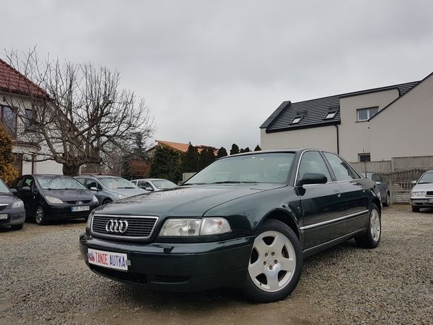 Audi a8 2.8 benzyna+LPG // super stan // opłaty// klimatyzacja// zamia