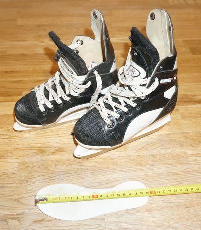 Łyżwy hokejowe Ranger 77 rozmiar 29 dł. wkł. 19 cm