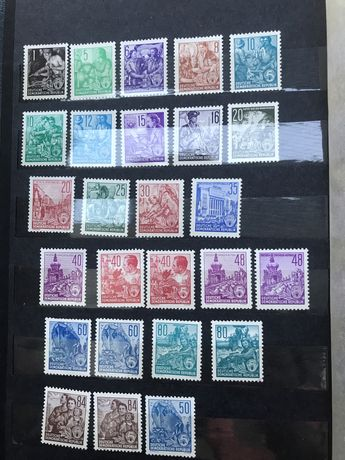 Znaczki  DDR kolekcjonerskie