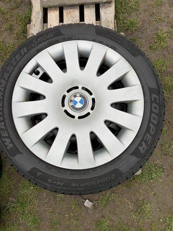 4x Felgi stalowe 16' z kołpakami BMW