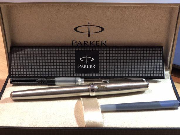 Перьевая ручка Parker SONNET 17 Stainless Steel