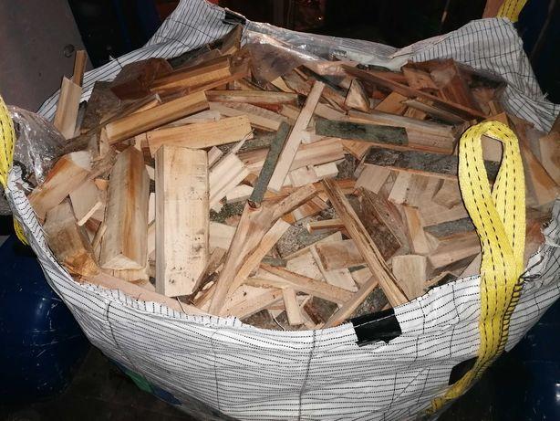 Drewno BUK opałowe worek BIG BAG