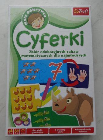 CYFERKI, Zbiór zabaw matematycznych dla najmłodszych