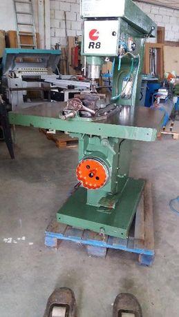 Frezadora pantografo scm com sistema pneumatico