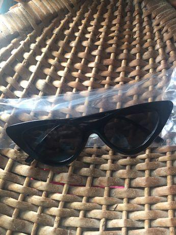 Óculos de sol olho de gato vintage