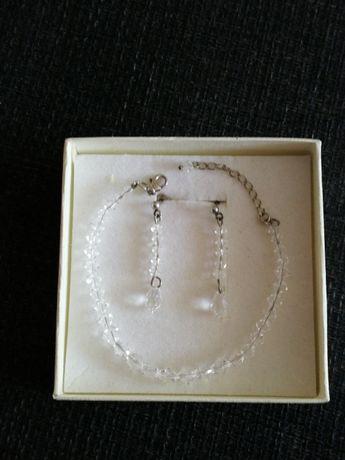 Biżuteria - kolczyki i bransoletka