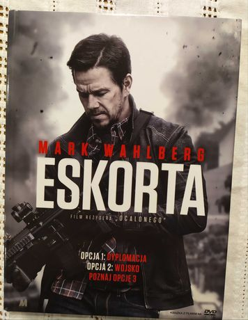 Eskorta -( Mark Wahlberg) film DVD stan idealny