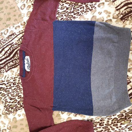Кофта реглан свитер Rebel 8-9 лет 134 рост