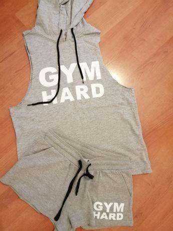 Gym hard spodenki, bluza