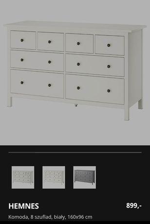 Komoda hemnes Ikea Outlet nowa biała