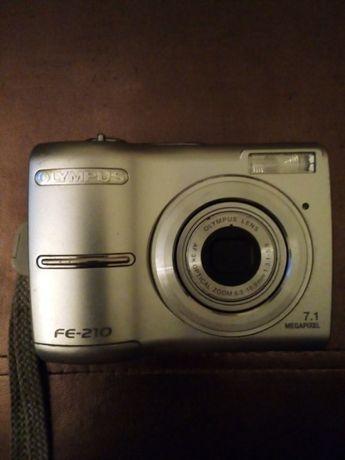 Máquina fotográfica e filmar digital Olympus