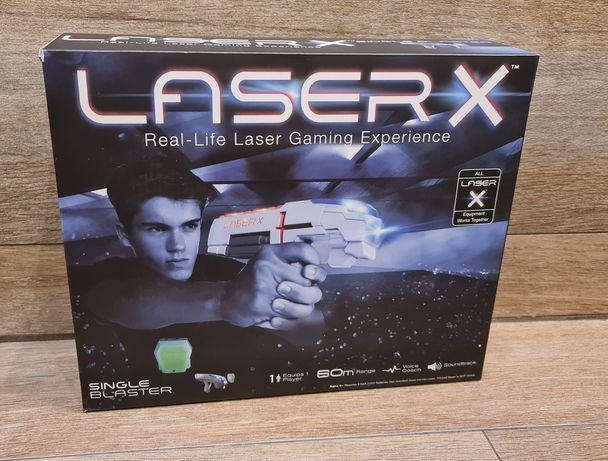 Pistolet na podczerwień LASER X - zestaw pojedynczy - LaserTAG