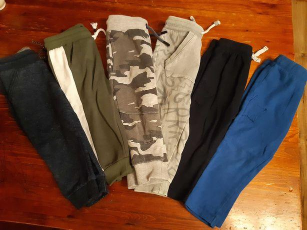 Spodnie dresowe reserved, f&f pepco r80 - 86