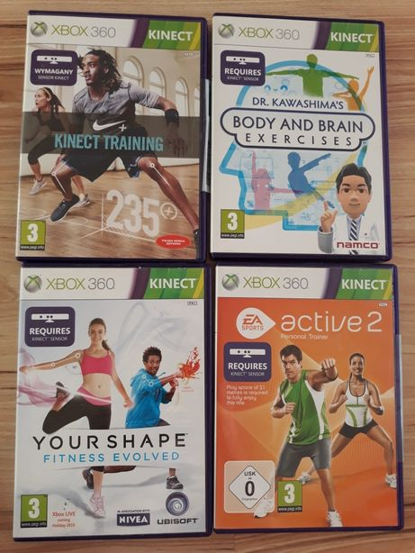Active 2 Nike Training your Shape fitness gry do Xbox 360