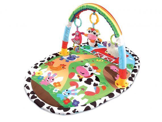 Ecotoys Mata Edukacyjna Interaktywna + zabawki