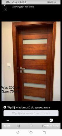 Drzwi 90x205 futryna 100  Prawe