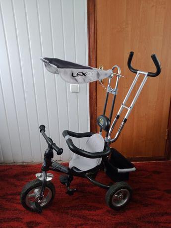 Велосипед трьохколесный на запчасти