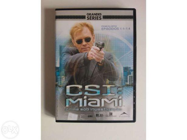 DVD C.S.I Miami - Crime Sob Investigação - 1ª temporada Episódio 1 a 4