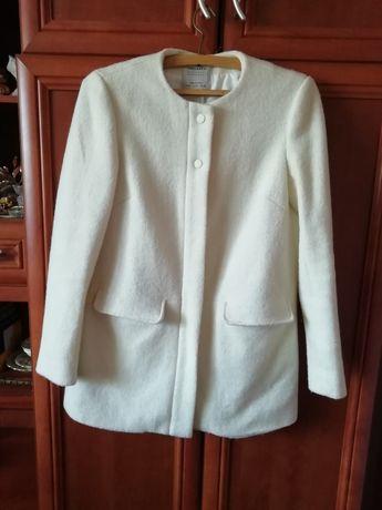 Płaszcz jesienny ZARA R. 36 welniany