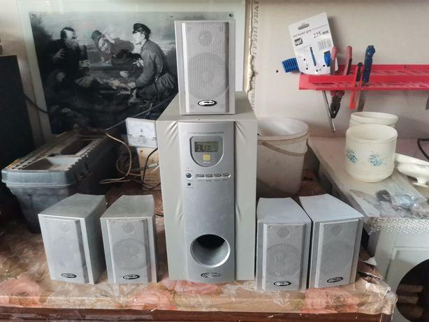 Аудио система 5.1 Gemix RV-04