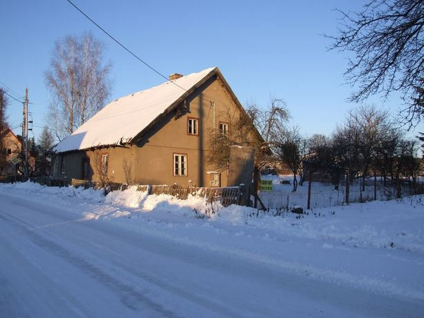 Działka rolna z budynkiem mieszkalnym w centrum Lipowca