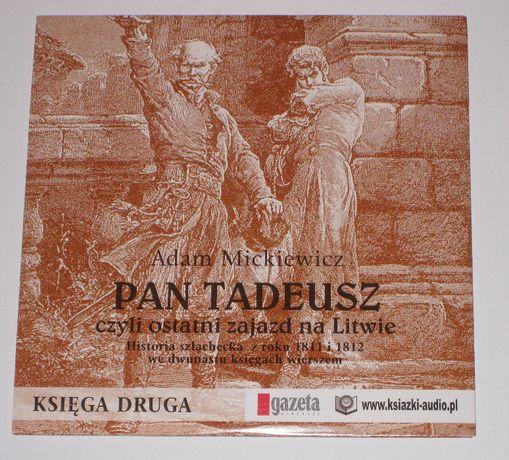Adam Mickiewicz, Pan Tadeusz Księga Druga - czyta Krzysztof Globisz