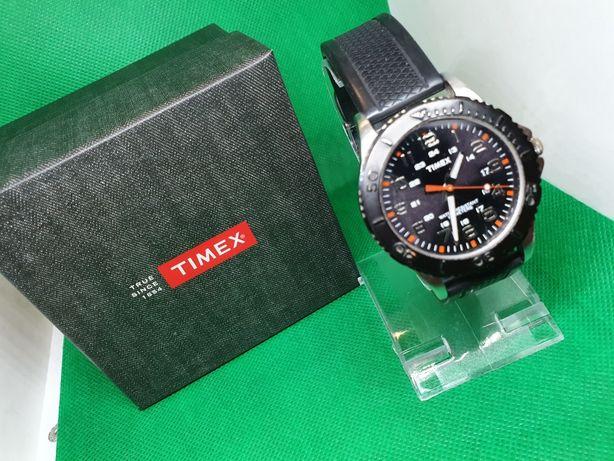 Męski Zegarek Sportowy Timex TW2P87200 komplet Młodzieżowy Gumowy
